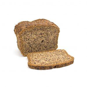 Low-Carb Brot mit Leinsamen - Perfekt zum Toasten!