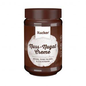 Xucker Nuss-Nugat Creme mit Xylit, ohne Palmöl