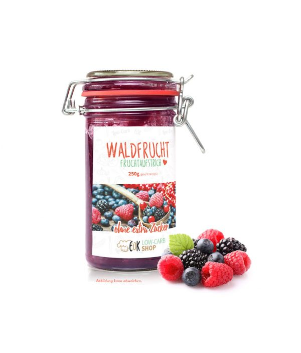 FruchtaufstrichWaldfrucht - über 20% mehr Inhalt
