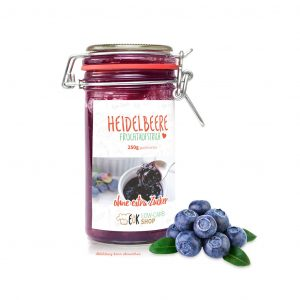 Fruchtaufstrich Heidelbeere -über 20% mehr Inhalt