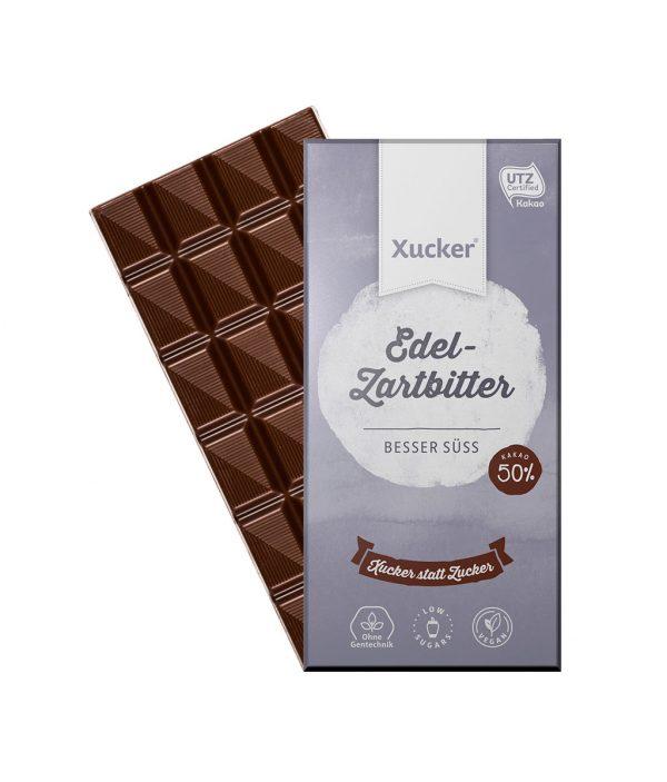 Xucker Vegane Zartbitter (Xylit-Schokolade)