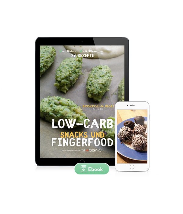 Low-Carb Snacks & Fingerfood 27 Rezepte (Ebook)