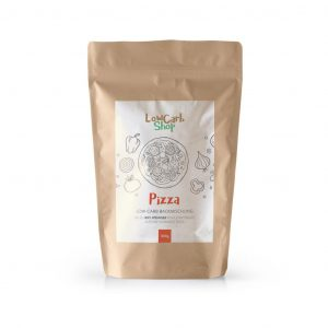 Low-Carb Pizza-Backmischung 300g (5 Pizzen)