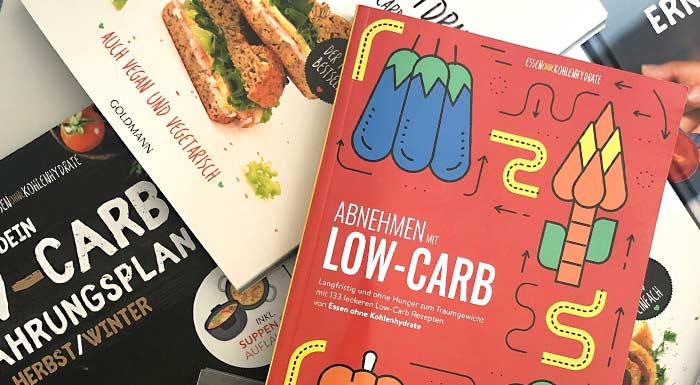 Low-Carb Kochbücher und Ernährungspläne