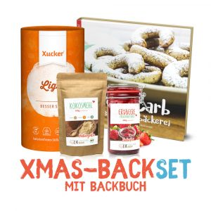 Xmas-Backset mit Backbuch