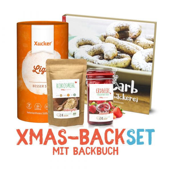Xmas-Backset mit Backbuch