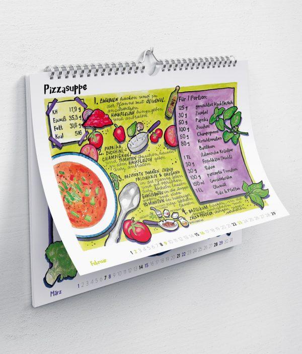 Essen ohne Kohlenhydrate Rezeptkalender 2020