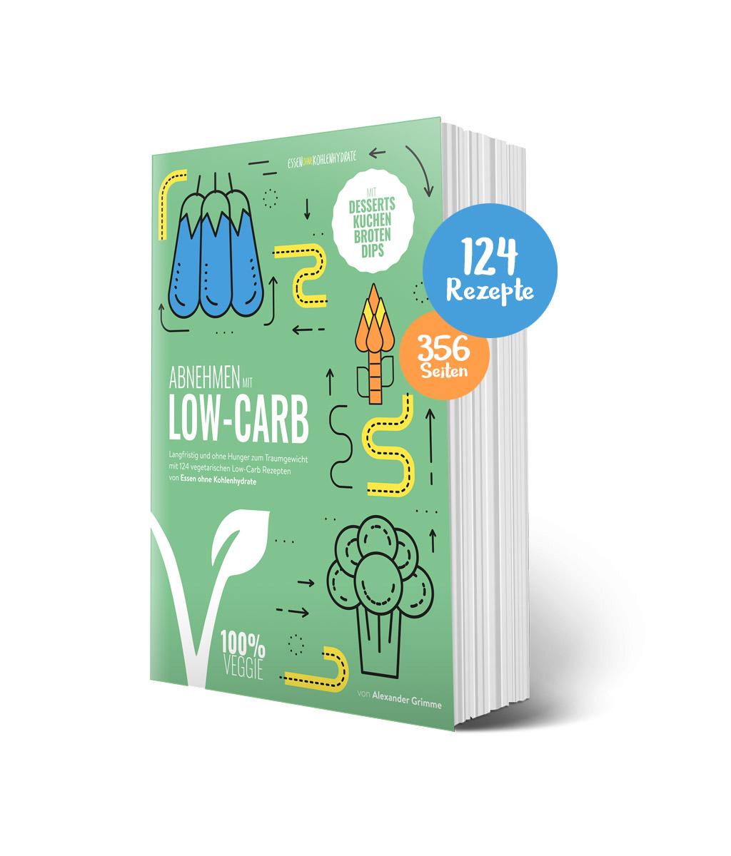 Abnehmen mit Low-Carb Vegetarisch