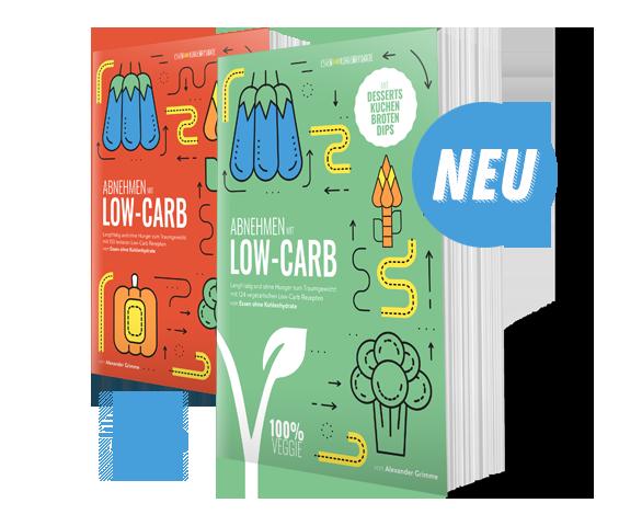 Die Low-Carb Bestseller Kochbücher von Essen ohne Kohlenhydrate