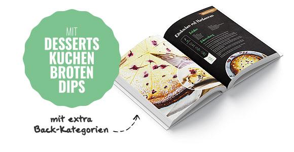 Backrezepte im Veggie-Buch
