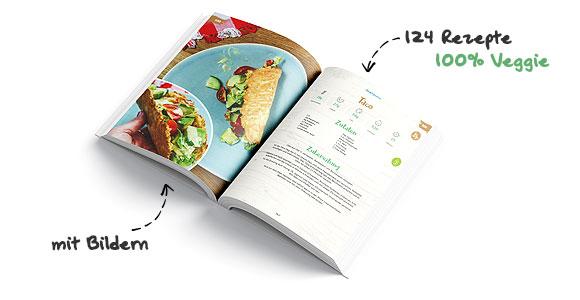 124 vegetarische Low-Carb Rezepte