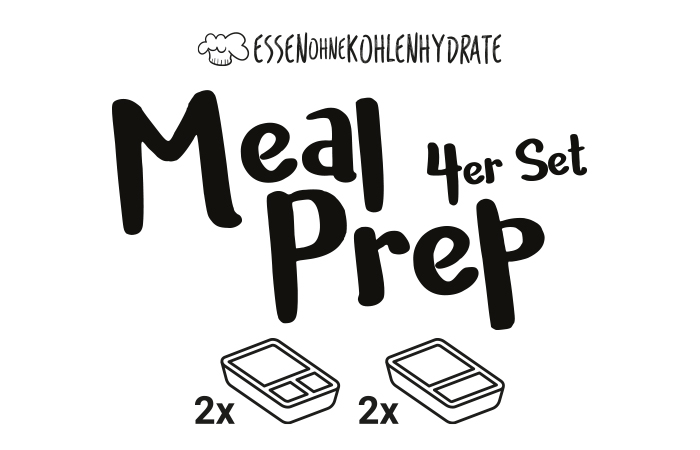 Meal Prep Glasboxen 4er Set