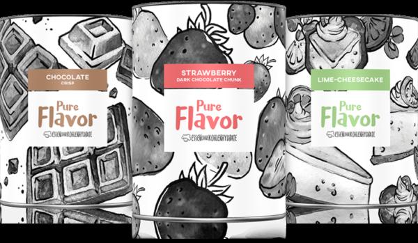 Pure Protein und Pure Flavor