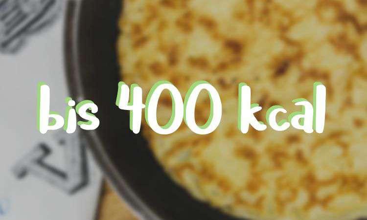 Low-Carb Rezepte bis 400 Kalorien