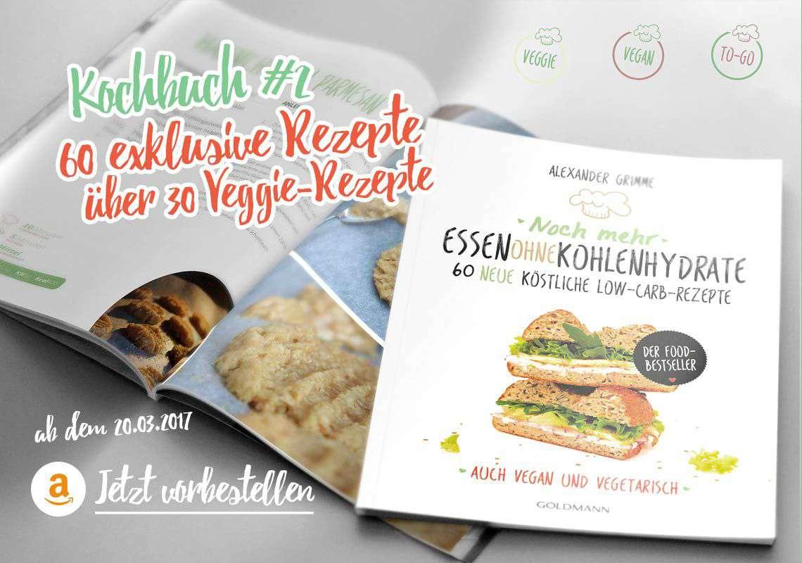 Kochbuch Nr.2 von Essen ohne Kohlenhydrate