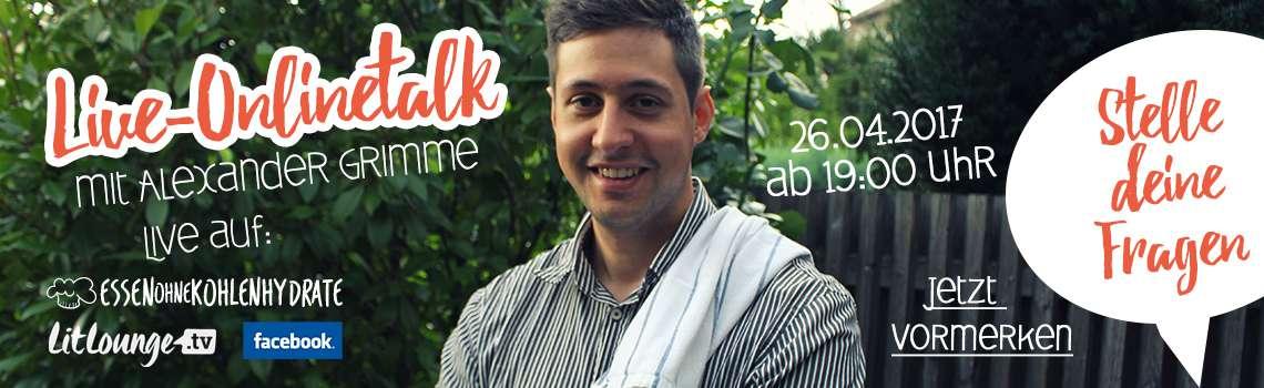 Onlinetalk mit Alexander Grimme