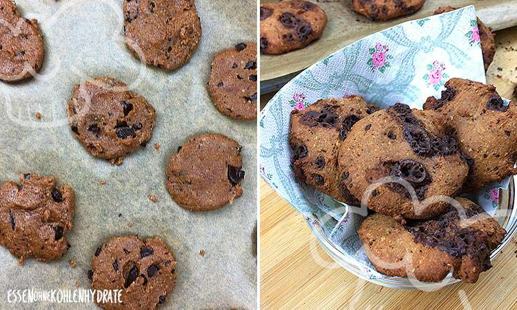 zum Rezept Low-Carb Chocolate Chip Protein-Cookies