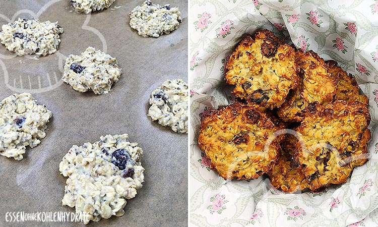 zum Rezept Chia Cranberry Protein-Cookies