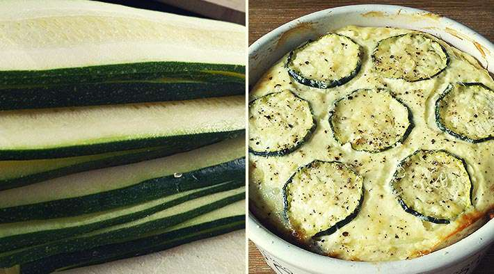 Rezept low carb zucchini