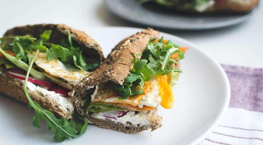 zum Rezept Homemade Fitness-Eiweiß-Sandwich