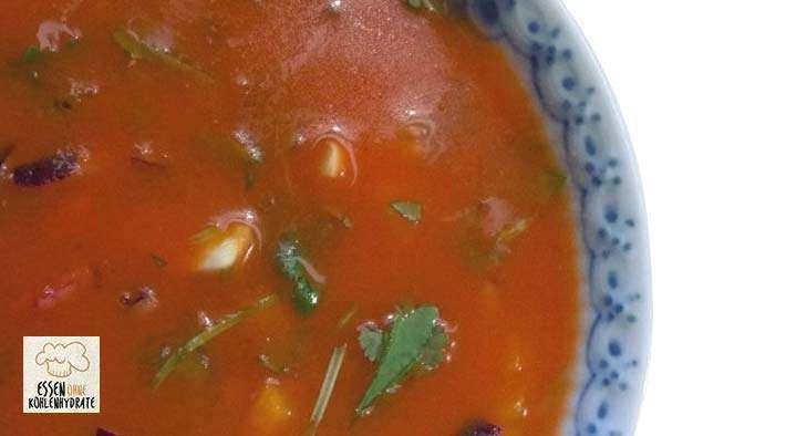 zum Rezept Spanische Low-Carb Tomaten-Gemüsesuppe (Gazpacho) by Heidi