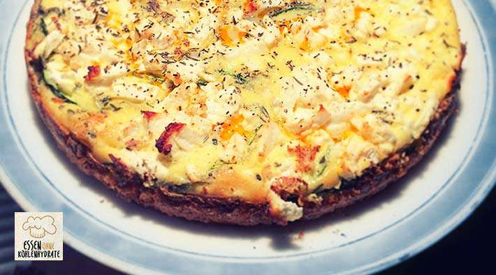 low carb zucchini quark quiche low carb rezepte. Black Bedroom Furniture Sets. Home Design Ideas
