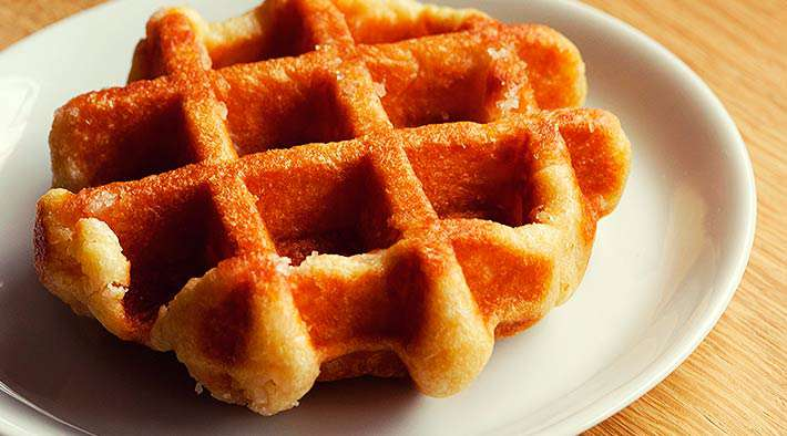 Low-Carb Vanille-Protein Miniwaffeln