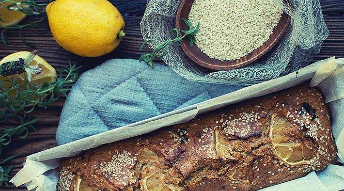 zum Rezept Leckerer Low-Carb Zitronenkuchen