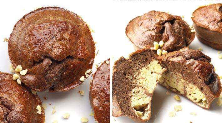 Low-Carb Schoko-Protein Quark-Muffins