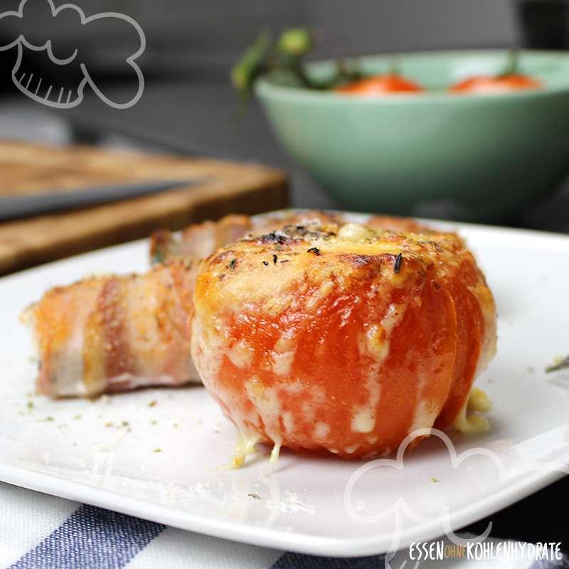 Hähnchen-Bacon-Rolle