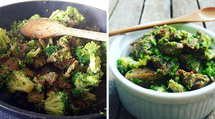 zum Rezept Low-Carb Asia-Brokkoli-Rindfleisch Pfanne