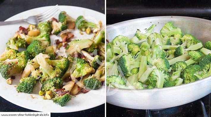 zum Rezept Gebratener Brokkoli mit Speck