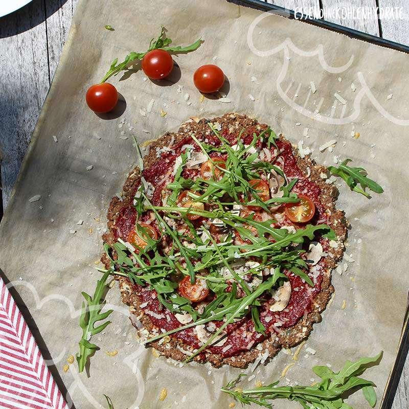 ᐅ Low Carb Chia Mandel Pizza Low Carb Rezepte Essen Ohne
