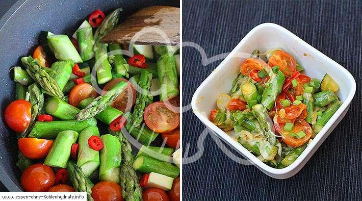 zum Rezept Leichter Spargel-Tomaten-Auflauf