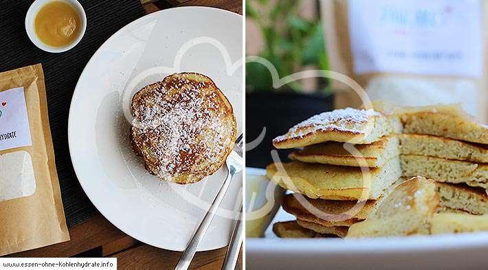 zum Rezept Leckere Low-Carb Pancakes