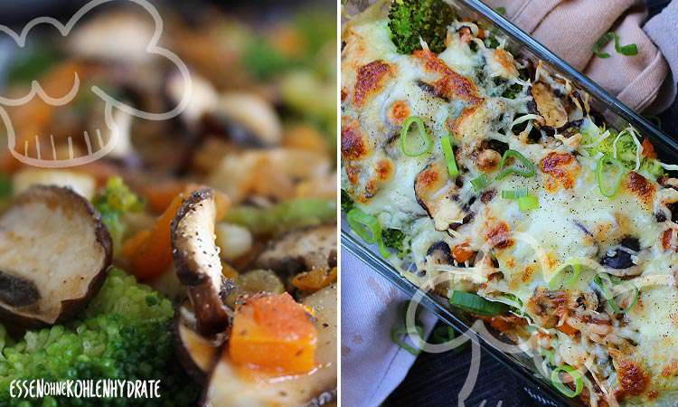 zum Rezept Leichtes Brokkoli-Gemüsegratin