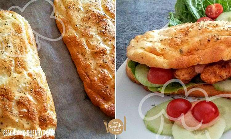 Cheese-Oregano Fitness-Sandwich