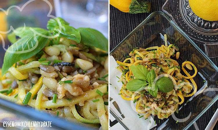 zum Rezept Leckerer Zoodle-Zitronen-Salat