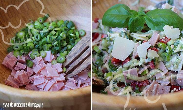 zum Rezept Fitness-Salat mit Schinken