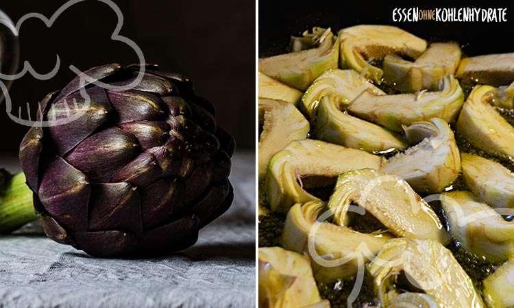zum Rezept Artischocken in Olivenöl