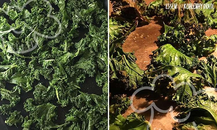 zum Rezept Kale Chips