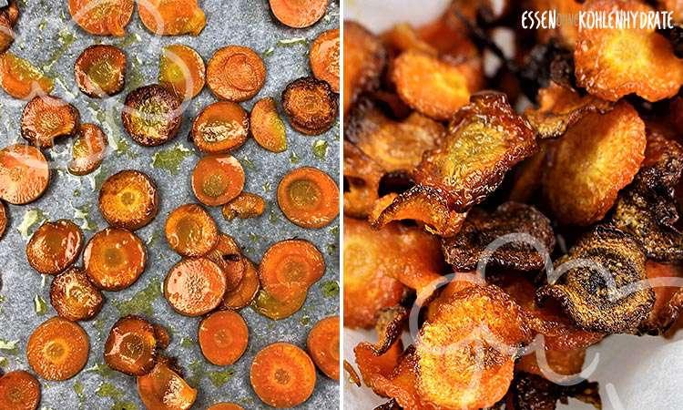zum Rezept Karotten Chips