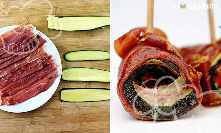 zum Rezept Parma-Zucchini Röllchen