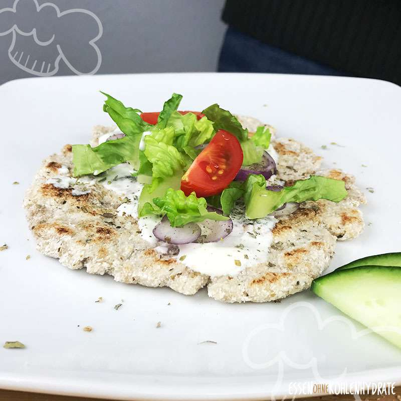 Low-Carb Pita Fladenbrot