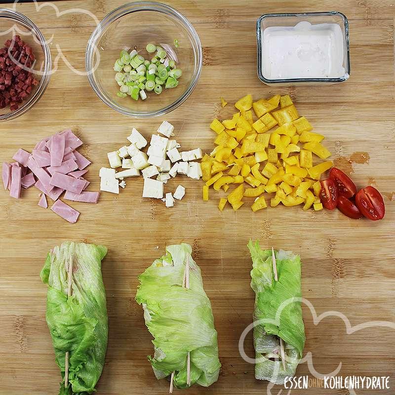 salat roulade low carb rezepte essen ohne kohlenhydrate. Black Bedroom Furniture Sets. Home Design Ideas
