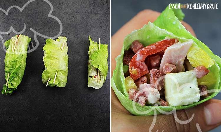 zum Rezept Salat-Roulade