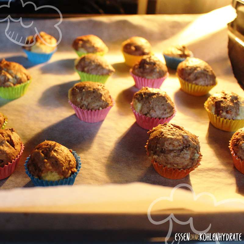 Low-Carb Mini Marmor Muffins