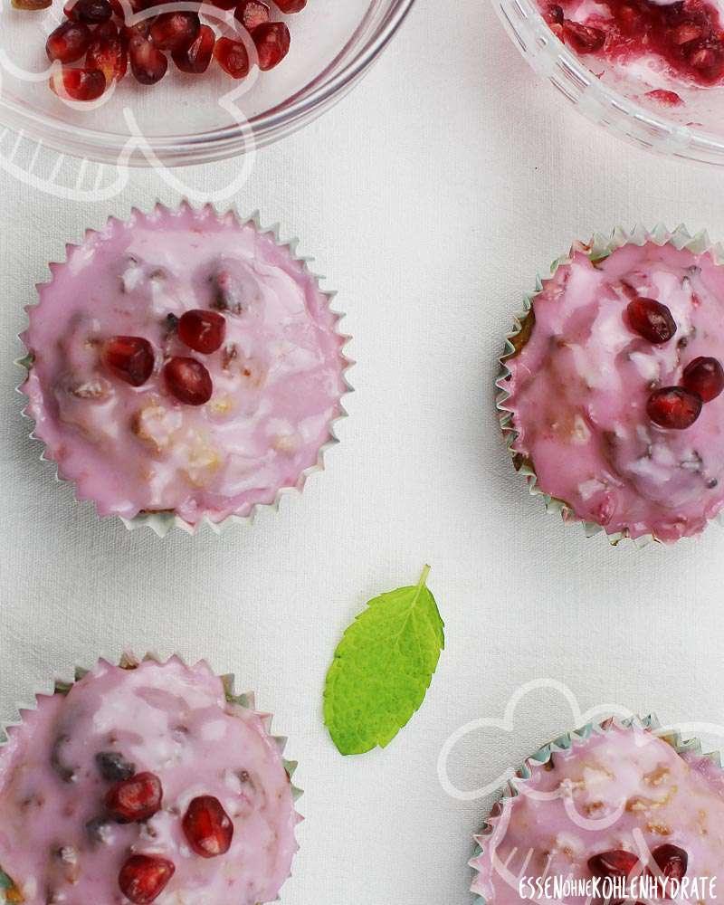 Granatapfel Muffins Pomegranate