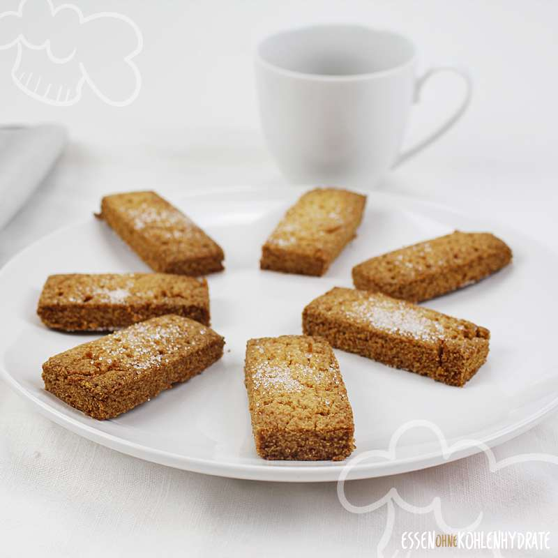 Low-Carb Shortbread