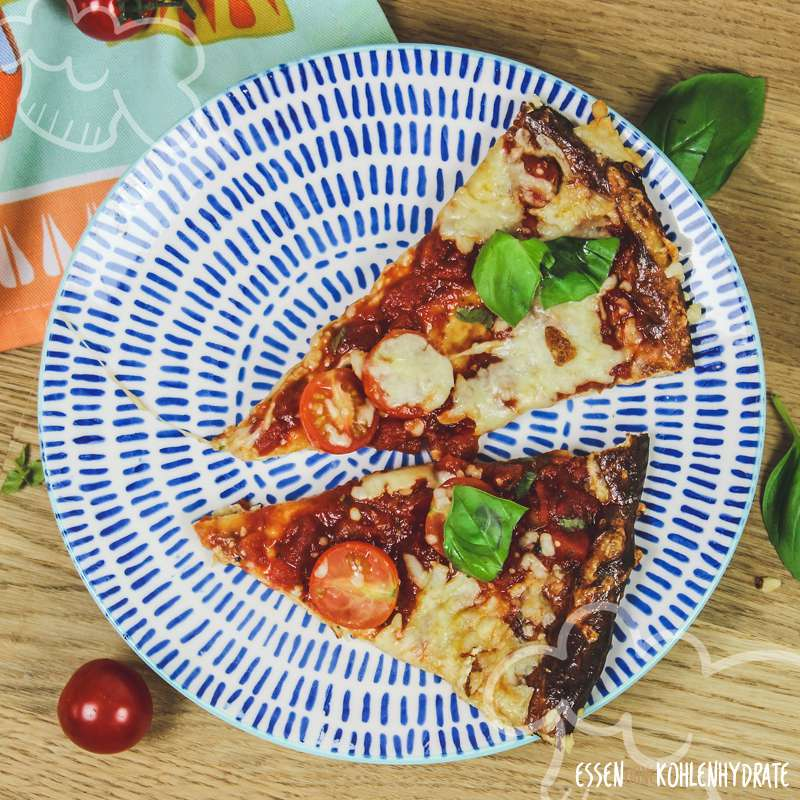 Low-Carb Magerquark-Pizza